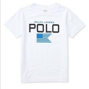 EUC Polo Ralph Lauren toddler boys SS shirt Sz 4T